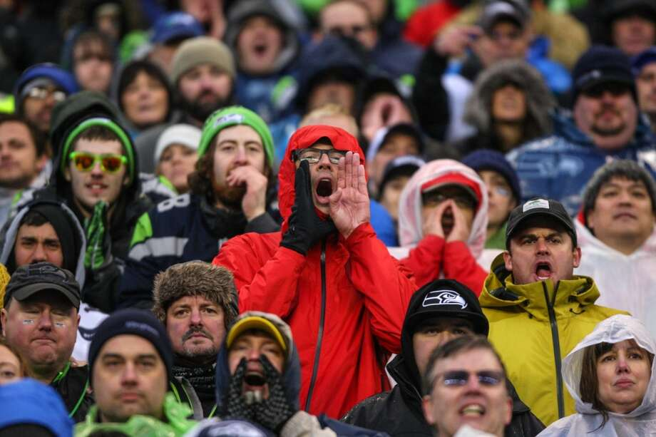 Seattle Seahawks fans make noise against the New Orleans Saints during the second half of an NFC Divisional Playoff game on Saturday, January 11, 2014 at CenturyLink Field in Seattle. Photo: JOSHUA TRUJILLO, SEATTLEPI.COM