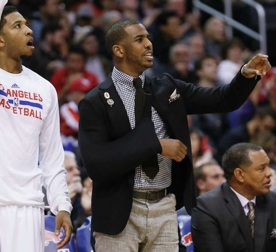 Clippers point guard Chris Paul is expected to miss two to four weeks with a separated shoulder. Los Angeles is 4-1 without him in the lineup. Photo: Danny Moloshok / Associated Press / FR161655 AP
