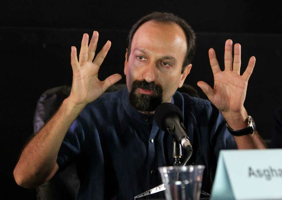 "Director Asghar Farhadi of Iran discusses his film, ""The Past,"" which is set in France and deals with family relationships at Saturday's symposium. Photo: David Buchan, Stringer / 2014 Getty Images"