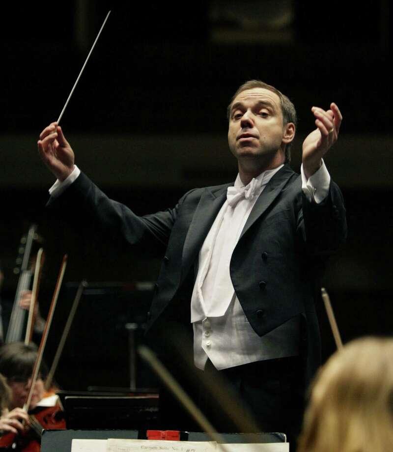 Sebastian Lang-Lessing is the symphony's music director. Photo: Bob Owen / San Antonio Express-News / rowen@express-news.net