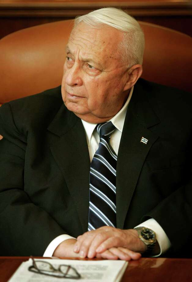 Israel's then-Prime Minister Ariel Sharon stunned the world in 2005 when he pulled Israeli settlers and troops from Gaza. Photo: Associated Press / AP