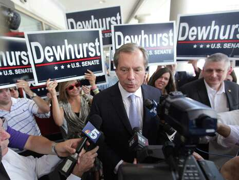 Lt. Gov. David Dewhurst's U.S. Senate campaign still owes about $1 million for various services. Photo: Houston Chronicle File Photo / © 2012 Houston Chronicle