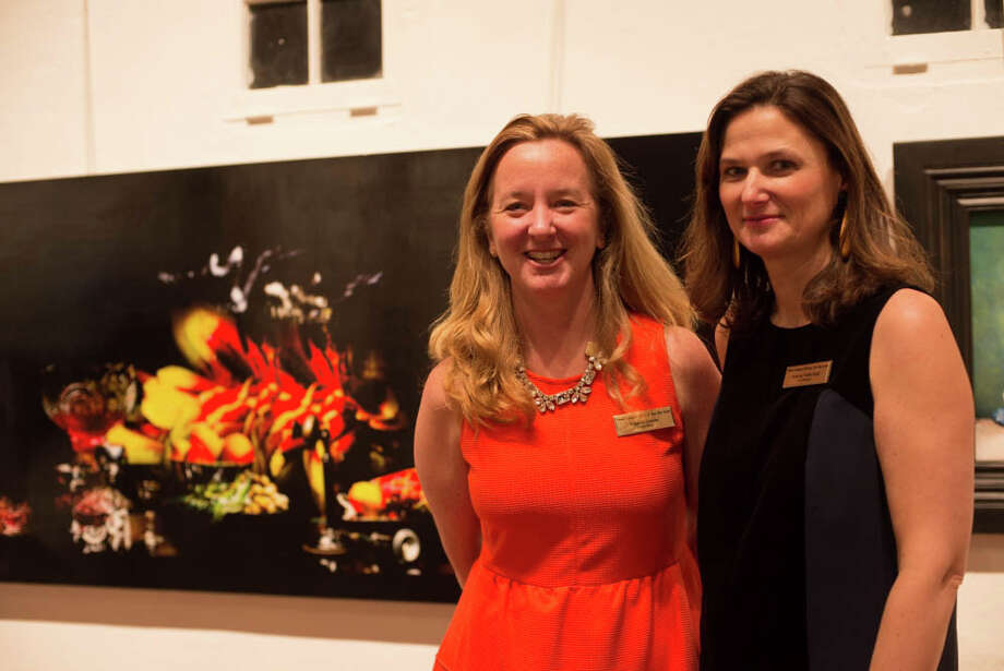 On Jan. 11, the Carriage Barn Art Center of New Canaan held a reception for its 34th annual photography show.  Were you SEEN enjoying the arts? Photo: Andrew Merrill