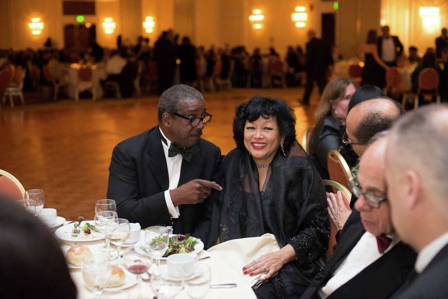 On Jan. 11, the Marriott in Stamford hosted the inaugural gala of Mayor David Martin. More photos from this event Photo: Andrew Merrill
