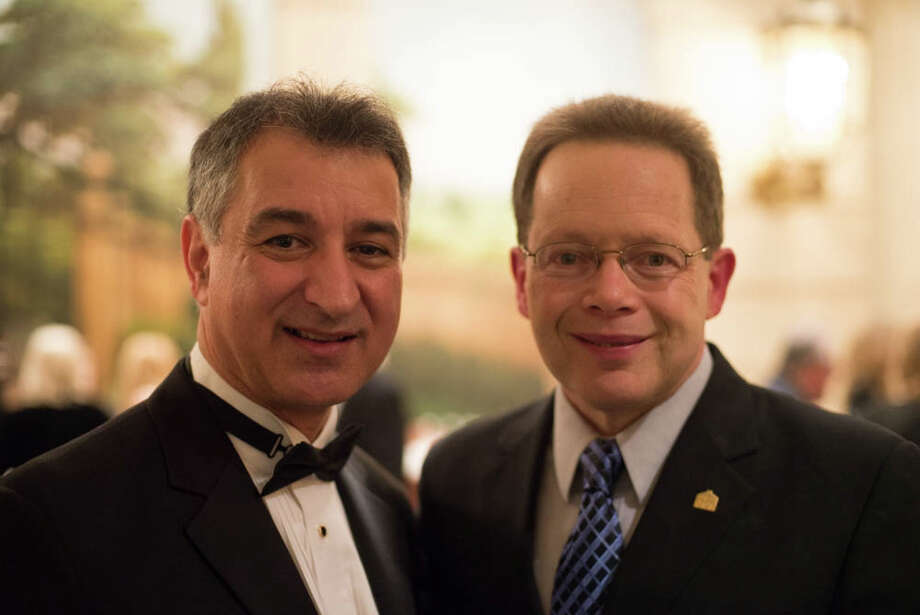 On Jan. 11, the Marriott in Stamford was host to the inaugural gala of Mayor David Martin. Were you SEEN dancing and celebrating with the newly elected mayor? Photo: Andrew Merrill