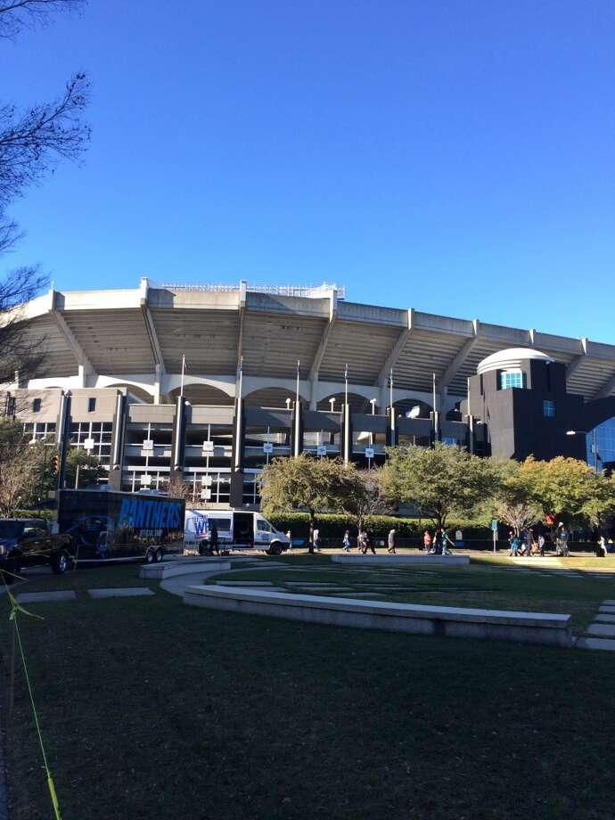 Bank of America stadium....