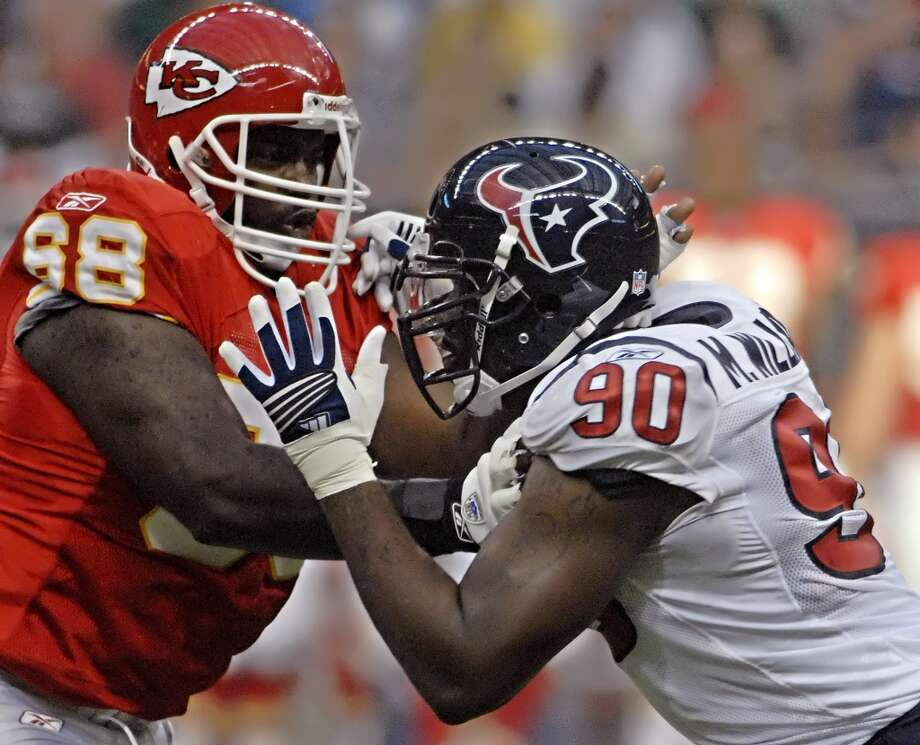 Will Shields  Right guard; Kansas City Chiefs (1993-2006) Photo: Tim Johnson, Reuters