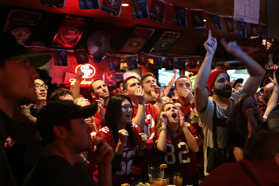 San Francisco 49ers fans emotionally invested in their team at the Kezar Pub in San Francisco, Calif. on Sunday, Jan. 12, 2014 Photo: Andre Zandona, The Chronicle