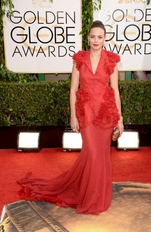 Actress Berenice Bejo attends the 71st Annual Golden Globe Awards held at The Beverly Hilton Hotel on January 12, 2014 in Beverly Hills, California. Photo: Jason Merritt, Getty Images