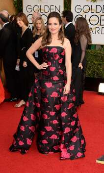 Actress Tina Fey attends the 71st Annual Golden Globe Awards held at The Beverly Hilton Hotel on January 12, 2014 in Beverly Hills, California. Photo: Jason Merritt, Getty Images