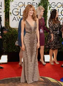 Actress Laura Dern attends the 71st Annual Golden Globe Awards held at The Beverly Hilton Hotel on January 12, 2014 in Beverly Hills, California.  ( Photo: Jason Merritt, Getty Images