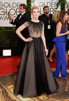 Actress Lily Rabe attends the 71st Annual Golden Globe Awards held at The Beverly Hilton Hotel on January 12, 2014 in Beverly Hills, California. Photo: Jason Merritt, Getty Images