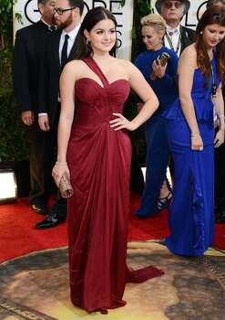 Ariel Winter arrives at the 71st annual Golden Globe Awards at the Beverly Hilton Hotel on Sunday, Jan. 12, 2014, in Beverly Hills, Calif. Photo: Jordan Strauss, Associated Press