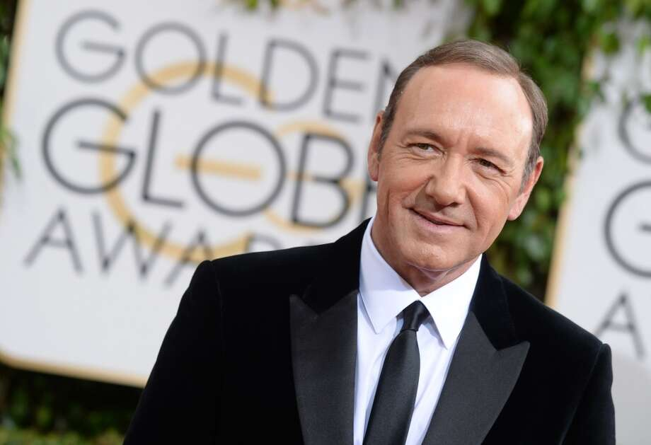Kevin Spacey arrives at the 71st annual Golden Globe Awards at the Beverly Hilton Hotel on Sunday, Jan. 12, 2014, in Beverly Hills, Calif. Photo: Jordan Strauss, Associated Press