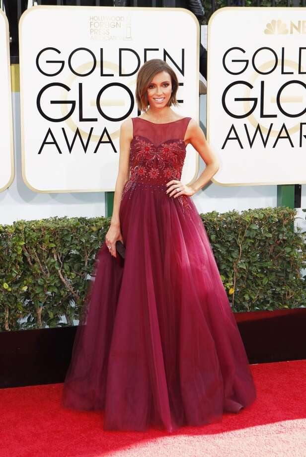 Worst: Giuliana Rancic: Another awards show, another failure to eat a dang cheeseburger. Photo: Wally Skalij, McClatchy-Tribune News Service