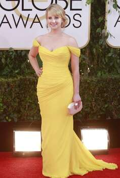 Melissa Rauch arrives for the 71st Annual Golden Globe Awards show at the Beverly Hilton Hotel on Sunday, Jan. 12, 2014, in Beverly Hills, Calif. Photo: Kirk McKoy, McClatchy-Tribune News Service