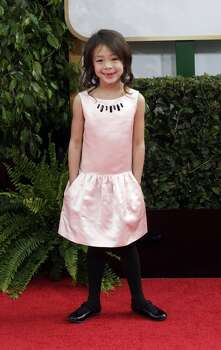 Aubrey Anderson-Emmons arrives for the 71st Annual Golden Globe Awards show at the Beverly Hilton Hotel on Sunday, Jan. 12, 2014, in Beverly Hills, Calif. Photo: Wally Skalij, McClatchy-Tribune News Service