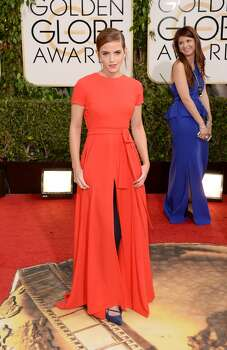 Actress Emma Watson attends the 71st Annual Golden Globe Awards held at The Beverly Hilton Hotel on January 12, 2014 in Beverly Hills, California.  (Photo by Jason Merritt/Getty Images) Photo: Jason Merritt, Getty Images