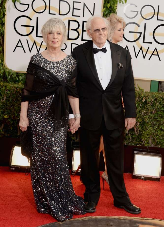 Actor Bruce Dern (R) and Andrea Dern attend the 71st Annual Golden Globe Awards held at The Beverly Hilton Hotel on January 12, 2014 in Beverly Hills, California.  (Photo by Jason Merritt/Getty Images) Photo: Jason Merritt, Getty Images