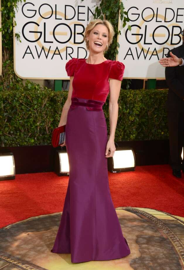 Julie Bowen arrives at the 71st annual Golden Globe Awards at the Beverly Hilton Hotel on Sunday, Jan. 12, 2014, in Beverly Hills, Calif. Photo: Jordan Strauss, Associated Press