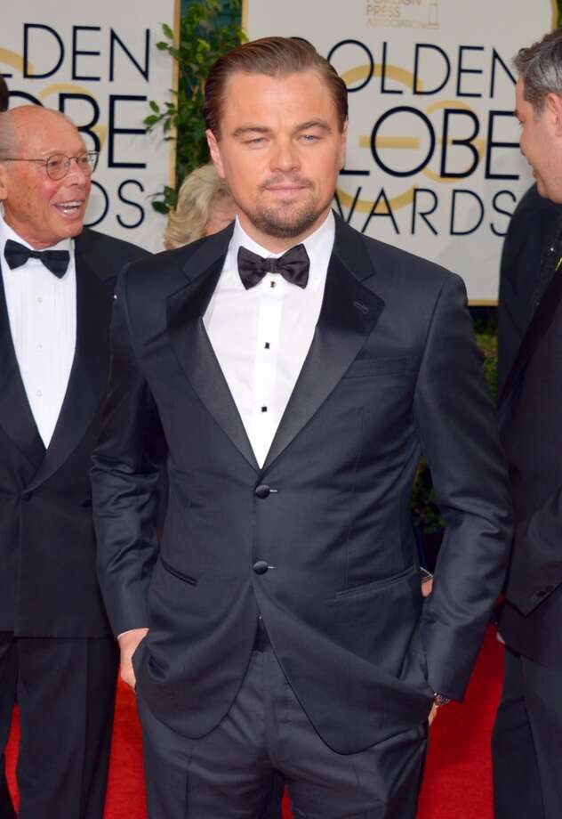 Leonardo DiCaprio arrives at the 71st annual Golden Globe Awards at the Beverly Hilton Hotel on Sunday, Jan. 12, 2014, in Beverly Hills, Calif. Photo: John Shearer, Associated Press