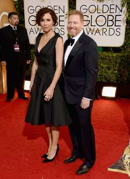 Actress Minnie Driver and Relativity Media CEO Ryan Kavanaugh attend the 71st Annual Golden Globe Awards held at The Beverly Hilton Hotel on January 12, 2014 in Beverly Hills, California. Photo: Jason Merritt, Getty Images