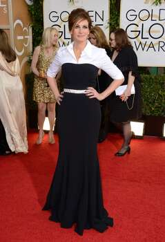 Julia Roberts arrives at the 71st annual Golden Globe Awards at the Beverly Hilton Hotel on Sunday, Jan. 12, 2014, in Beverly Hills, Calif. Photo: Jordan Strauss, Associated Press