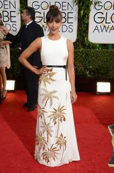 Rashida Jones arrives at the 71st annual Golden Globe Awards at the Beverly Hilton Hotel on Sunday, Jan. 12, 2014, in Beverly Hills, Calif. Photo: Jordan Strauss, Associated Press