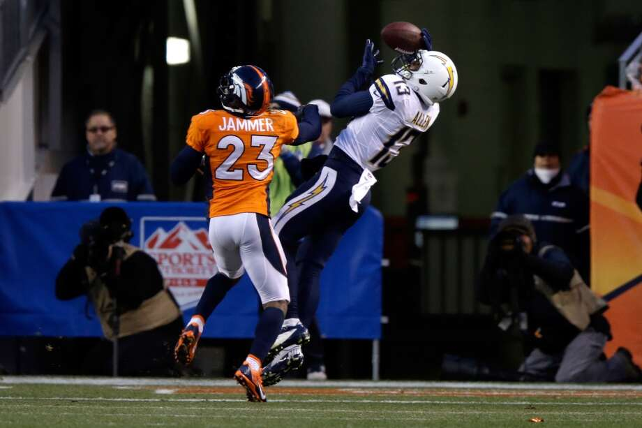 Keenan Allen #13 catches a touchdown. Photo: Ezra Shaw, Getty Images