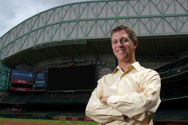 Astros new scouting director Mike Elias poses for a portrait at Minute Maid Park on Friday, Aug. 17, 2012, in Houston, TX. ( J. Patric Schneider / For the Chronicle )