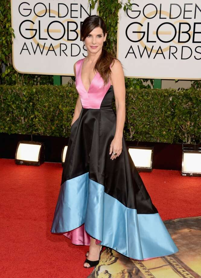 Actress Sandra Bullock attends the 71st Annual Golden Globe Awards held at The Beverly Hilton Hotel on January 12, 2014 in Beverly Hills, California. Photo: Jason Merritt, Getty Images