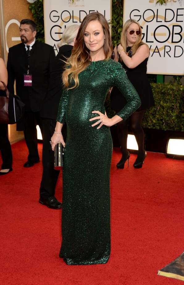 Actress Olivia Wilde attends the 71st Annual Golden Globe Awards held at The Beverly Hilton Hotel on January 12, 2014 in Beverly Hills, California. Photo: Jason Merritt, Getty Images