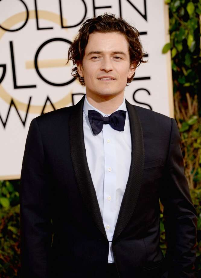 Actor Orlando Bloom attends the 71st Annual Golden Globe Awards held at The Beverly Hilton Hotel on January 12, 2014 in Beverly Hills, California. Photo: Jason Merritt, Getty Images