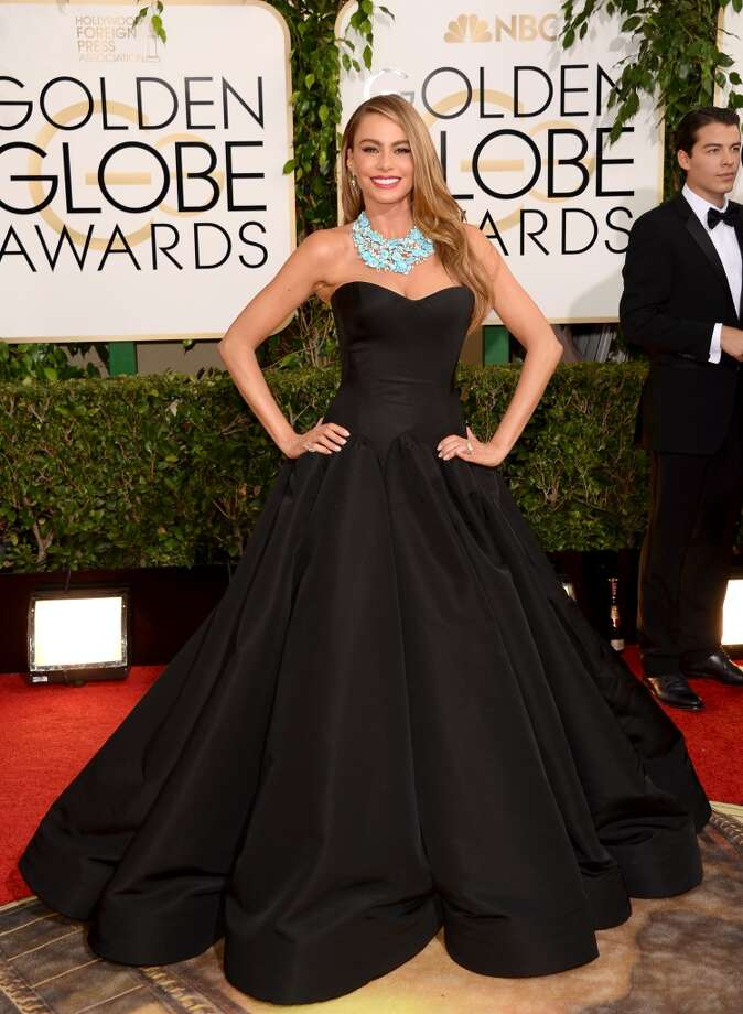 Actress Sofia Vergara attends the 71st Annual Golden Globe Awards held at The Beverly Hilton Hotel on January 12, 2014 in Beverly Hills, California. Photo: Jason Merritt, Getty Images