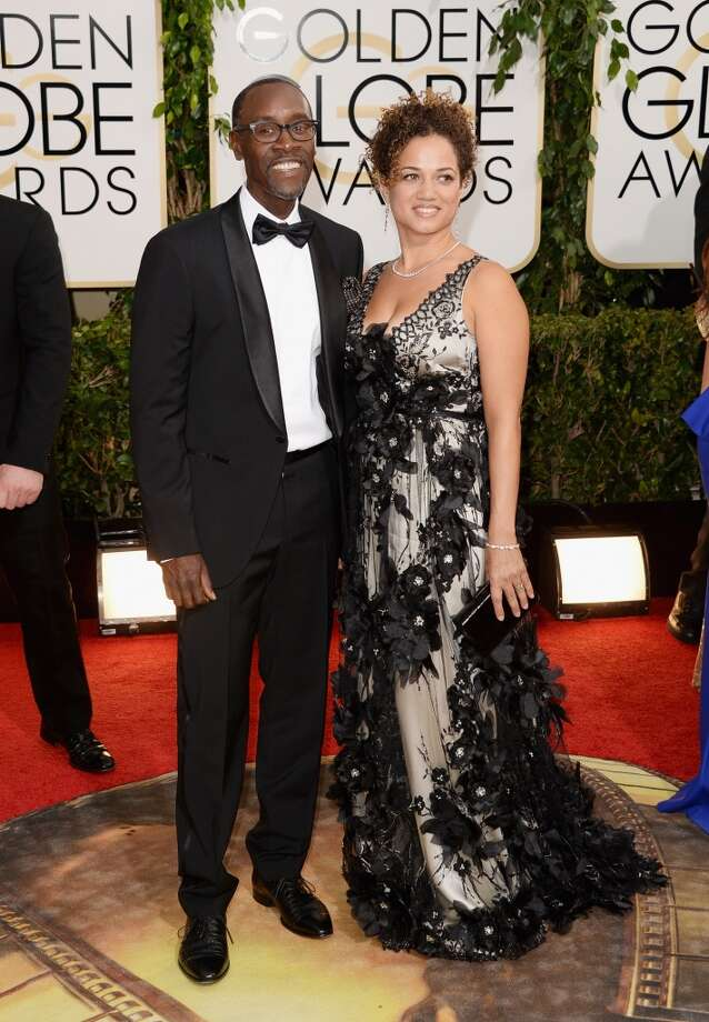 Actor Don Cheadle and wife Bridgid Coulture attend the 71st Annual Golden Globe Awards held at The Beverly Hilton Hotel on January 12, 2014 in Beverly Hills, California.  (Photo by Jason Merritt/Getty Images) Photo: Jason Merritt, Getty Images