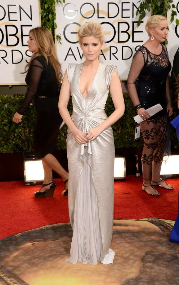 Actress Kate Mara attends the 71st Annual Golden Globe Awards held at The Beverly Hilton Hotel on January 12, 2014 in Beverly Hills, California.  (Photo by Jason Merritt/Getty Images) Photo: Jason Merritt, Getty Images
