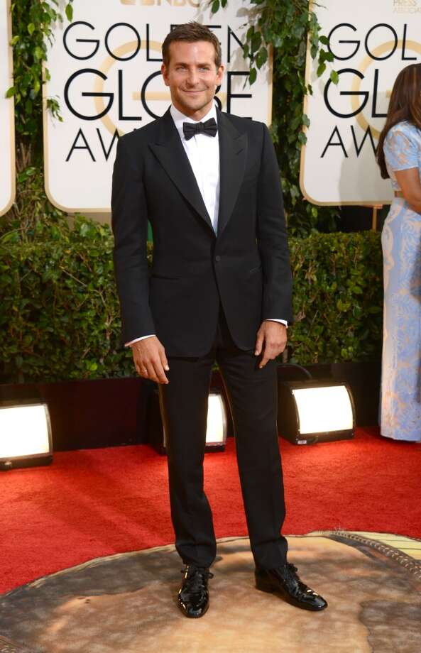 Bradley Cooper arrives at the 71st annual Golden Globe Awards at the Beverly Hilton Hotel on Sunday, Jan. 12, 2014, in Beverly Hills, Calif. Photo: Jordan Strauss, Associated Press