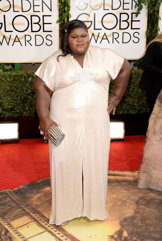 Actress Gabourey Sidibe attends the 71st Annual Golden Globe Awards held at The Beverly Hilton Hotel on January 12, 2014 in Beverly Hills, California.  (Photo by Jason Merritt/Getty Images) Photo: Jason Merritt, Getty Images