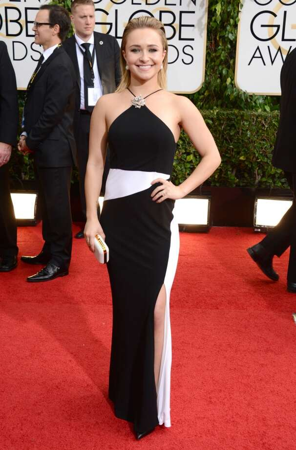 Hayden Panettiere arrives at the 71st annual Golden Globe Awards at the Beverly Hilton Hotel on Sunday, Jan. 12, 2014, in Beverly Hills, Calif. Photo: Jordan Strauss, Associated Press