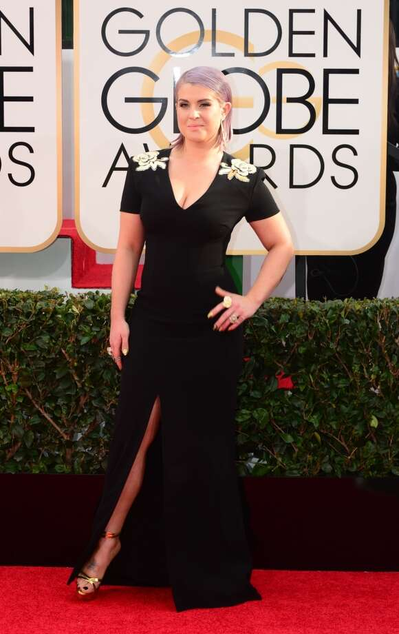 Kelly Osbourne arrives on the red carpet for the Golden Globe awards on January 12, 2014 in Beverly Hills, California. Photo: FREDERIC J. BROWN, AFP/Getty Images