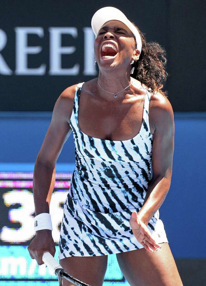 Venus Williams lost in the first round of the Australian Open for only the second time in 14 appearances. Photo: Mal Fairclough / Getty Images / AFP