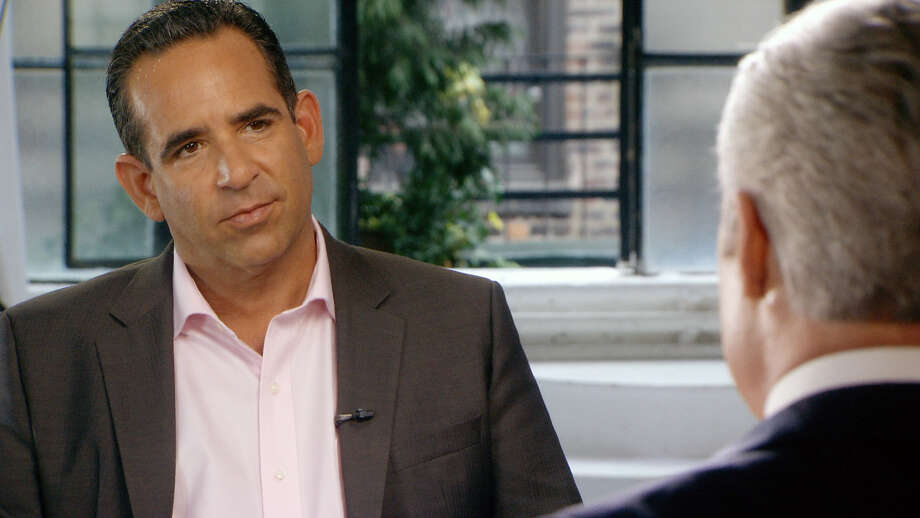 CORRECTS TO REMOVE REFERENCE TO INJECTING - In this undated image taken from video and provided by 60 minutes, Biogenesis founder Anthony Bosch, left, talks with 60 Minutes correspondent Scott Pelley. On Sunday, Jan. 12, 2014, 60 minutes will air an interview with Bosch explaining how he provided Alex Rodriguez with performance enhancing drugs during Rodriguez's relationship with Biogenesis. An arbitrator ruled Saturday that Rodriguez, NY Yankees' third baseman, will have to sit out 162 games for his illegal use of performance enhancing drugs. (AP Photo/60 Minutes) MANDATORY CREDIT; NO SALES; NO ARCHIVE; FOR NORTH AMERICAN USE ONLY Photo: HOEP / CBS