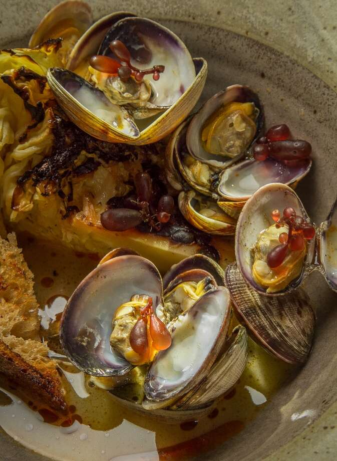 The local clams at TBD. Photo: John Storey, Special To The Chronicle