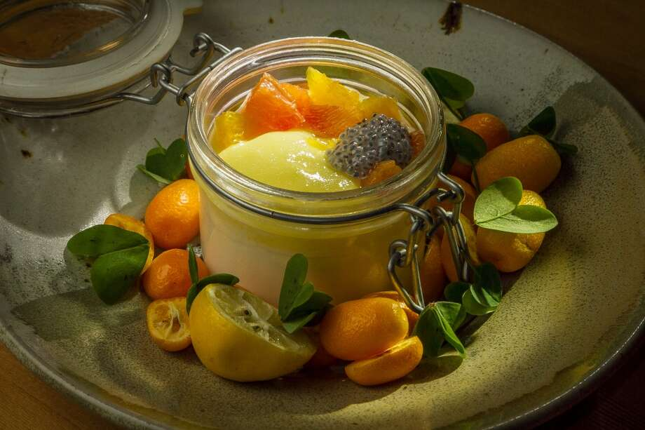 The Meyer Lemon Curd with hearth cultured Yogurt at TBD. Photo: John Storey, Special To The Chronicle