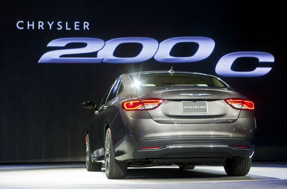 The 2015 Chrysler 200 sedan is unveiled. Photo: Tony Ding, Associated Press