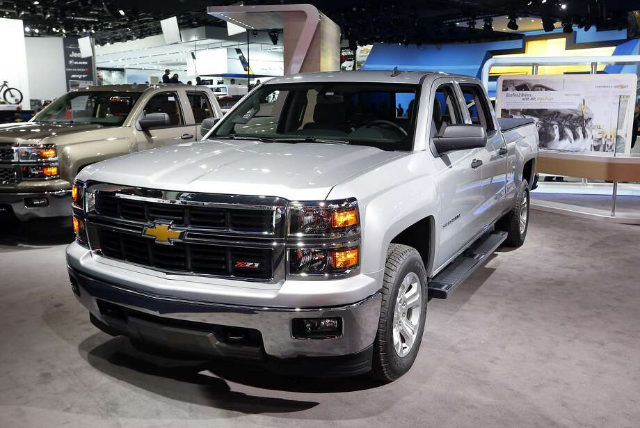 The Chevrolet Silverado has been named North American Truck of the Year at the North American International Auto Show. Photo: Paul Sancya, Associated Press