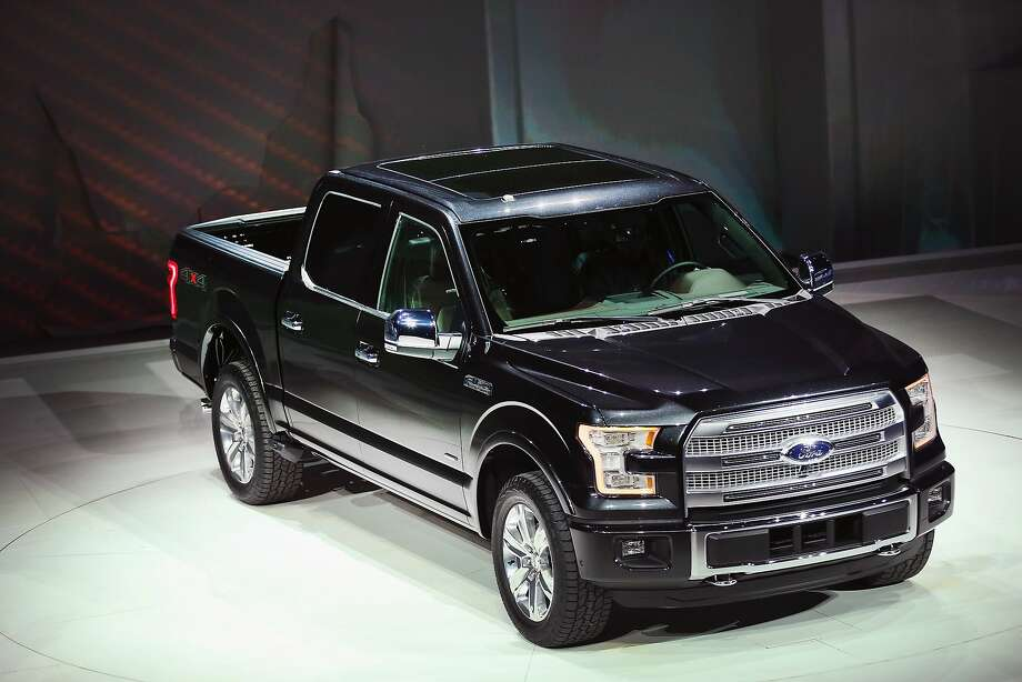 Ford introduces the new F-150 pickup truck. Photo: Scott Olson, Getty Images