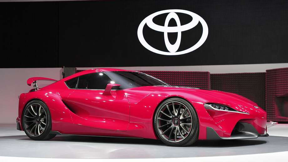 The new Toyota FT-1 Concept. Photo: Bill Pugliano, Getty Images