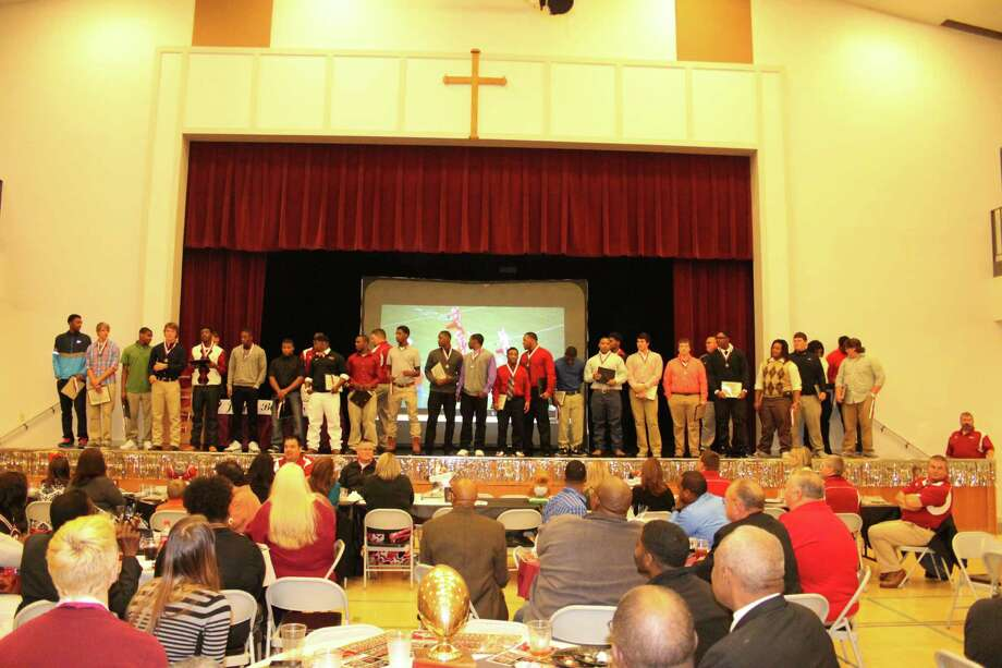 The Jasper Annual Football Banquet was held this past Thursday. Photo Jason Dunn