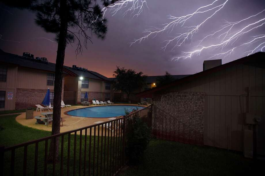 PHOTOS: Dramatic lightning strike across TexasLightning strikes that caused deaths were at an all time low in 2013 with fewer deaths reported across the country, according to the National Weather Service. Texas saw two deaths, with one in San Antonio, that were attributed to the beautiful but sometimes deadly electrical storms.A lightning storm rolls across the sky Monday June 17, 2013 in Odessa, Texas. Photo: Edyta Blaszczyk, Associated Press / Odessa American